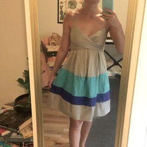 Jessica Simpson Women's Color Block Sundress